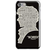 BORINGMAN iPhone Case/Skin