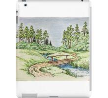 Hills landscape iPad Case/Skin