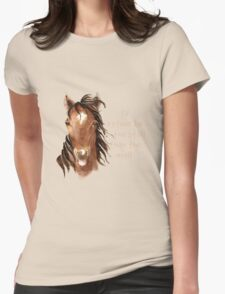 Rather be in the Stall than the Mall Horse Quote T-Shirt