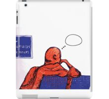 the monk's thoughts iPad Case/Skin