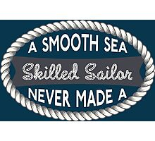 Smooth Sailing Photographic Print
