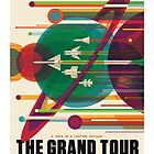 The Grand Tour - NASA Travel Poster by maslowsky