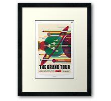 The Grand Tour - NASA Travel Poster Framed Print