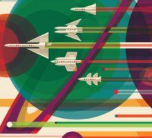 The Grand Tour - NASA Travel Poster Sticker