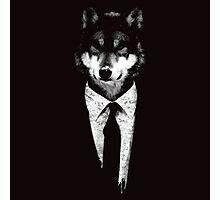 Mr Wolf Photographic Print
