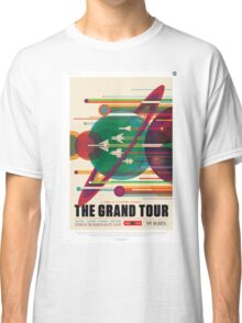 The Grand Tour - NASA Travel Poster Classic T-Shirt