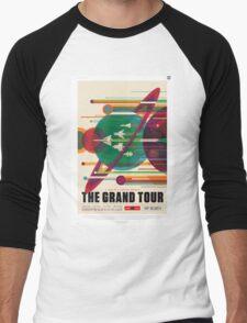 The Grand Tour - NASA Travel Poster Men's Baseball ¾ T-Shirt