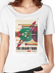 The Grand Tour - NASA Travel Poster Women's Relaxed Fit T-Shirt