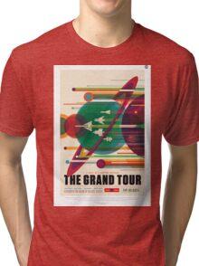 The Grand Tour - NASA Travel Poster Tri-blend T-Shirt