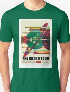 The Grand Tour - NASA Travel Poster Unisex T-Shirt