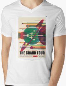 The Grand Tour - NASA Travel Poster Mens V-Neck T-Shirt