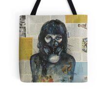Eyes Behind the Mask Tote Bag
