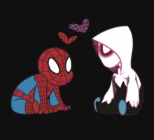 Little SpideyGwen Pair Kids Tee