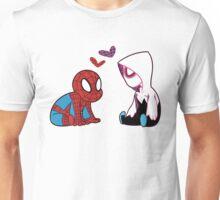 Little SpideyGwen Pair Unisex T-Shirt