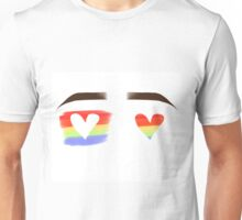 Love Wins Eyebrows Unisex T-Shirt