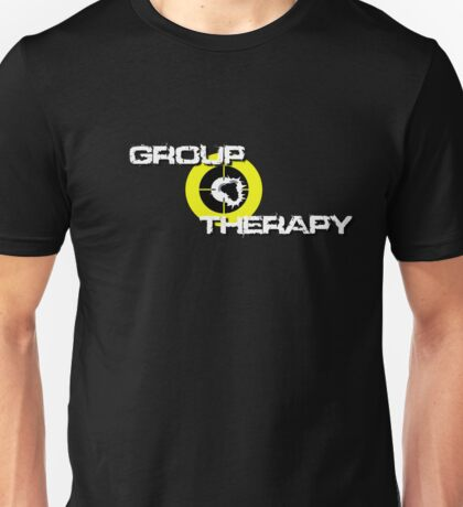 Group Therapy  - white text Unisex T-Shirt