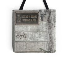 Faculty of Law - Santiago - Grunged Filter Tote Bag