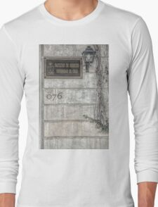 Faculty of Law - Santiago - Grunged Filter Long Sleeve T-Shirt