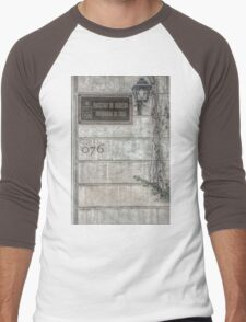 Faculty of Law - Santiago - Grunged Filter Men's Baseball ¾ T-Shirt