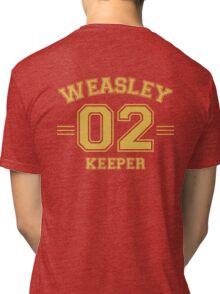 Weasley - Keeper Tri-blend T-Shirt