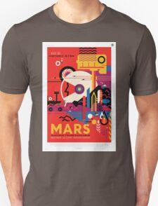 Mars - NASA Travel Poster T-Shirt
