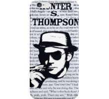 Hunter Stockton Thompson. iPhone Case/Skin