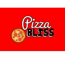 Pizza Bliss Photographic Print