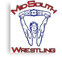 Mid-South Championship Wrestling Canvas Print