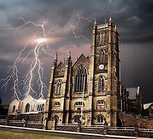 Godly lightning strike by DimondImages