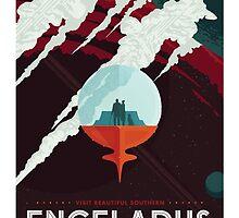 Retro NASA Space Poster by whitneykayc