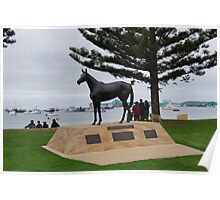 Makybe Diva - 3 times winner of the Melbourne Cup Poster