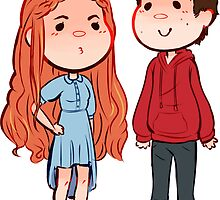 Teen Wolf Stiles Stilinksi and Lydia Martin Stydia by Dimension Bound