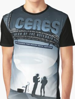 Ceres - NASA Travel Poster Graphic T-Shirt
