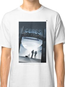 Ceres - NASA Travel Poster Classic T-Shirt