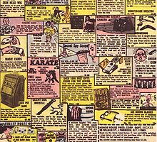 Comic Book Ads by millytant