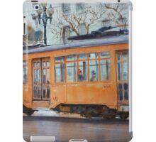 Orange Streetcar, San Francisco iPad Case/Skin