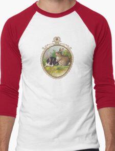 Vintage Easter Bunnies Men's Baseball ¾ T-Shirt