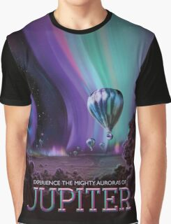 Jupiter - NASA Travel Poster Graphic T-Shirt