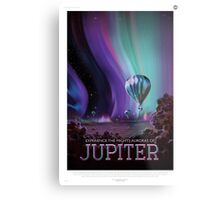 Jupiter - NASA Travel Poster Metal Print