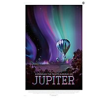 Jupiter - NASA Travel Poster Photographic Print