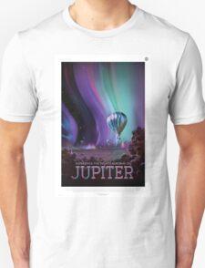Jupiter - NASA Travel Poster Unisex T-Shirt