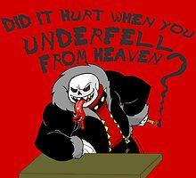 Underfell from Heaven by green-ruby