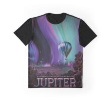 Retro NASA Space Poster - Jupiter Graphic T-Shirt
