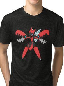 Pokemon- Mega Scizor Tri-blend T-Shirt