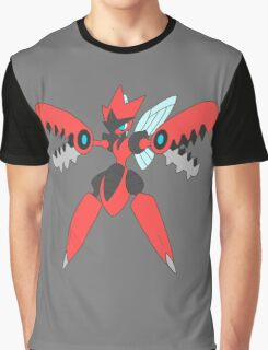Pokemon- Mega Scizor Graphic T-Shirt