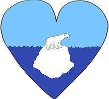 Polar Bear Love by Rob Price