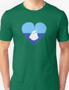 Polar Bear Love Unisex T-Shirt