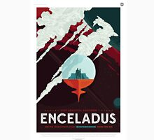 Enceladus - NASA Travel Poster Unisex T-Shirt