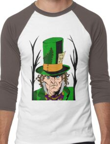 Tea Time for the Mad Men's Baseball ¾ T-Shirt