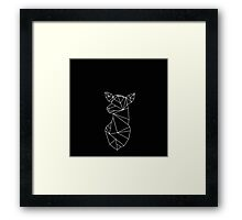 Geometric Doe Framed Print
